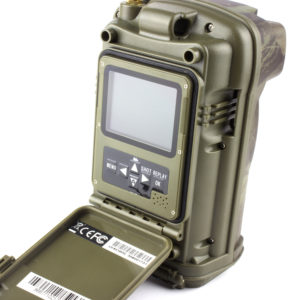 Wildlife camera with integrated GMS module