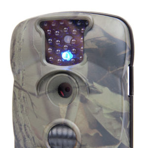 Wildlife camera with diodes which is invisible at night