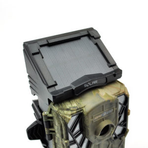 Wildlife camera with emitter coverage at night